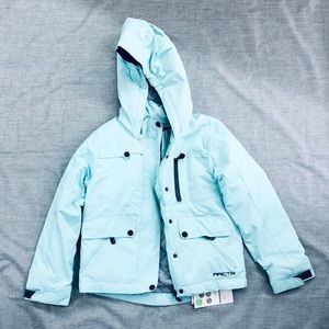 Teal Youth Winter Coat